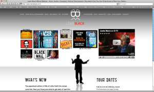 Lewis Black web site