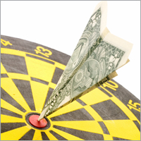 Money dartboard